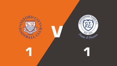 Highlights: Oxford City vs Chippenham Town
