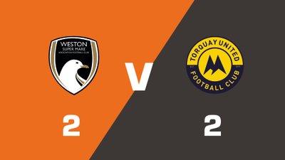 Highlights: Weston-super-Mare AFC vs Torquay United