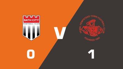 Highlights: Bath City vs Hemel Hempstead Town