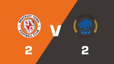 Highlights: Brackley Town vs Chester