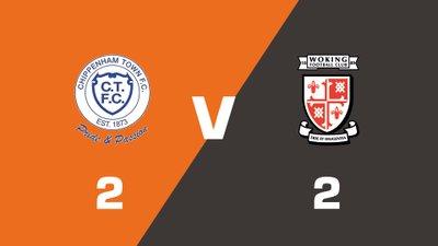 Highlights: Chippenham Town vs Woking