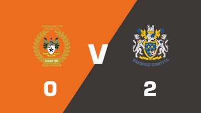Highlights: Curzon Ashton vs Stockport County