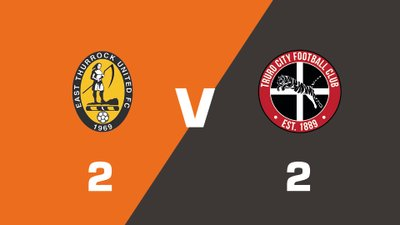 Highlights: East Thurrock United vs Truro City