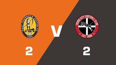 Highlights: East Thurrock United vs Truro City