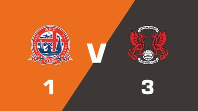 Highlights: AFC Fylde vs Leyton Orient