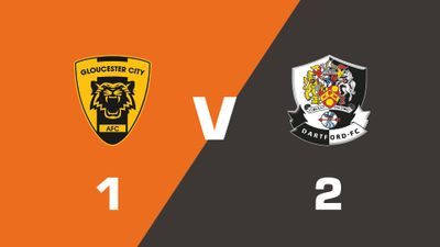 Highlights: Gloucester City vs Dartford