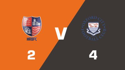 Highlights: Hampton & Richmond Borough vs Oxford City
