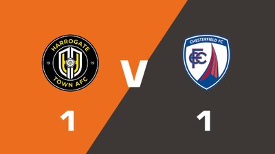 Highlights: Harrogate Town vs Chesterfield
