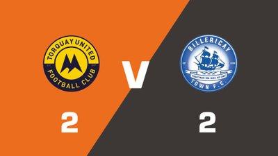 Highlights: Torquay United vs Billericay Town