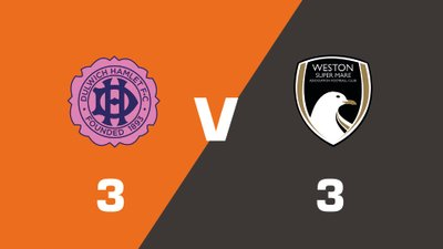 Highlights: Dulwich Hamlet vs Weston-super-Mare AFC