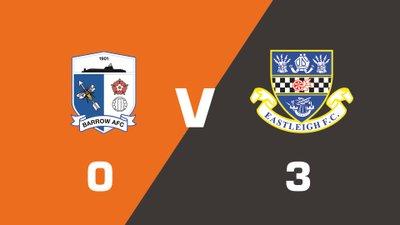 Highlights: Barrow vs Eastleigh