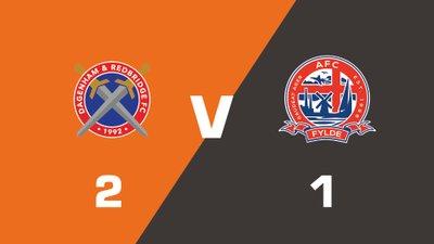Highlights: Dagenham & Redbridge vs AFC Fylde