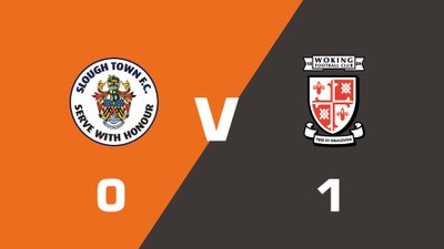 Highlights: Slough Town vs Woking