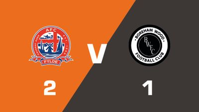 Highlights: AFC Fylde vs Boreham Wood