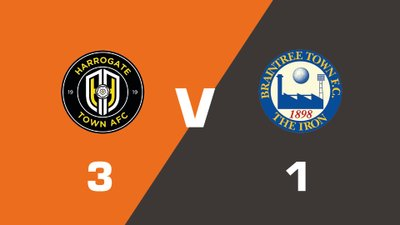Highlights: Harrogate Town vs Braintree Town