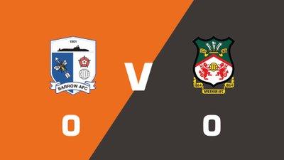 Highlights: Barrow vs Wrexham