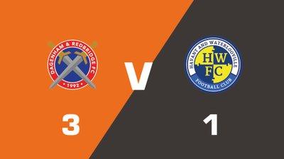 Highlights: Dagenham & Redbridge vs Havant & Waterlooville