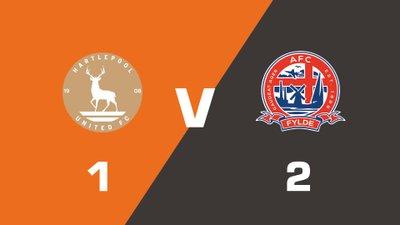 Highlights: Hartlepool United vs AFC Fylde