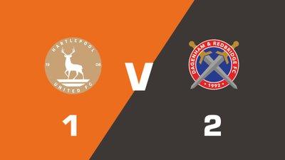 Highlights: Hartlepool United vs Dagenham & Redbridge