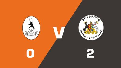 Highlights: AFC Telford United vs Bradford (Park Avenue)