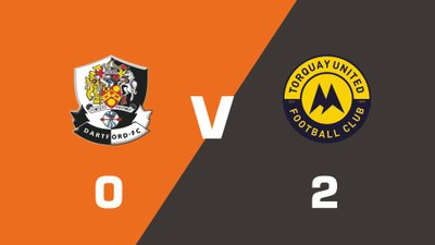 Highlights: Dartford vs Torquay United