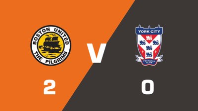 Highlights: Boston United vs York City
