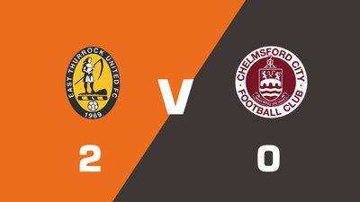 Highlights: East Thurrock United vs Chelmsford City