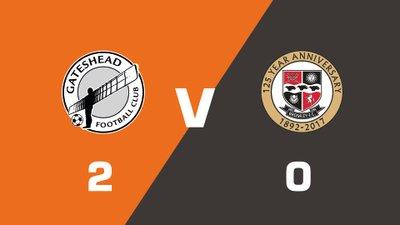 Highlights: Gateshead vs Bromley