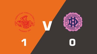 Highlights: Hemel Hempstead Town vs Dulwich Hamlet