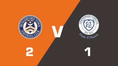 Highlights: Hungerford Town vs Chippenham Town