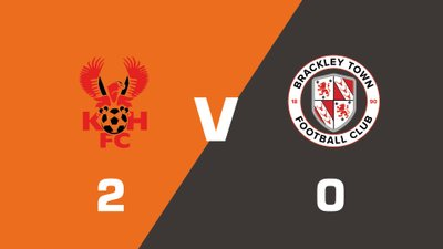 Highlights: Kidderminster Harriers vs Brackley Town
