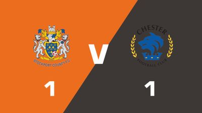 Highlights: Stockport County vs Chester