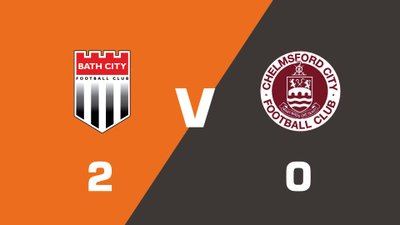 Highlights: Bath City vs Chelmsford City