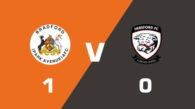 Highlights: Bradford (Park Avenue) vs Hereford
