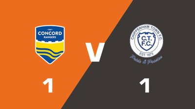 Highlights: Concord Rangers vs Chippenham Town
