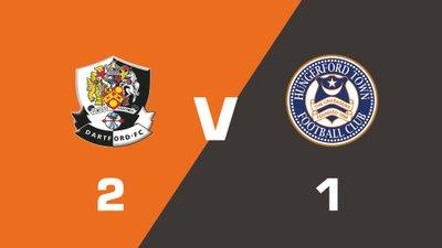 Highlights: Dartford vs Hungerford Town