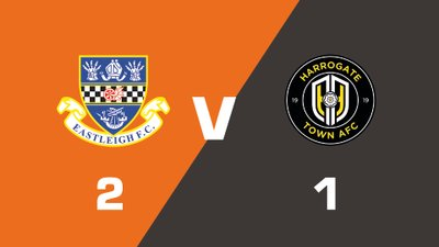 Highlights: Eastleigh vs Harrogate Town