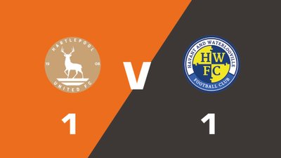 Highlights: Hartlepool United vs Havant & Waterlooville