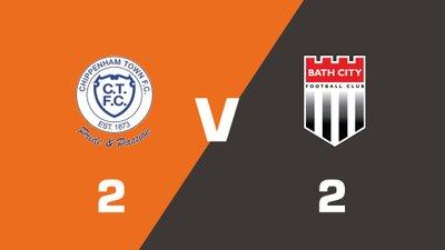 Highlights: Chippenham Town vs Bath City