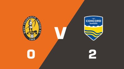 Highlights: East Thurrock United vs Concord Rangers