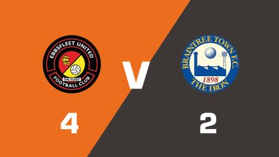Highlights: Ebbsfleet United vs Braintree Town