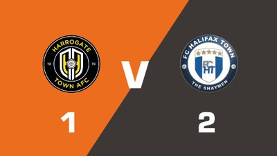 Highlights: Harrogate Town vs FC Halifax Town