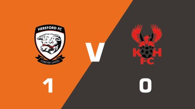 Highlights: Hereford vs Kidderminster Harriers