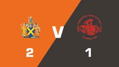 Highlights: St Albans City vs Hemel Hempstead Town