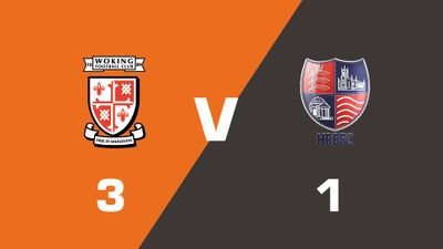 Highlights: Woking vs Hampton & Richmond Borough