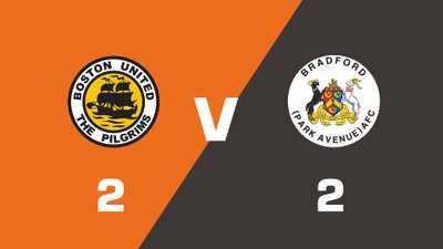 Highlights: Boston United vs Bradford (Park Avenue)