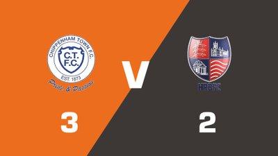 Highlights: Chippenham Town vs Hampton & Richmond Borough