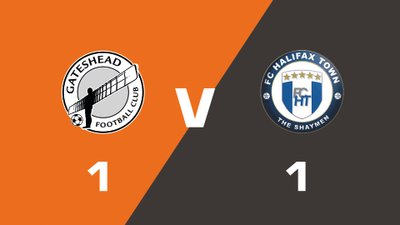 Highlights: Gateshead vs FC Halifax Town