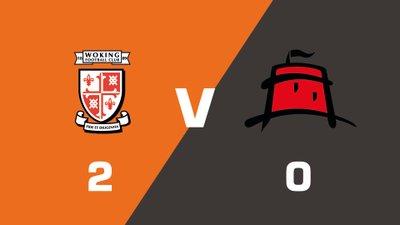 Highlights: Woking vs Eastbourne Borough