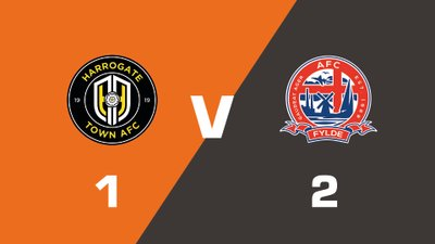 Highlights: Harrogate Town vs AFC Fylde